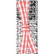Sweet Valentine- Pink Gingham Ribbon