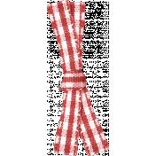 Sweet Valentine- Red Gingham Ribbon