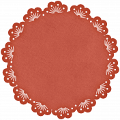Sweet Valentine- Red Paper Doily
