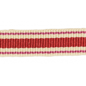 Sweet Valentine Elements- Striped Red Ribbon