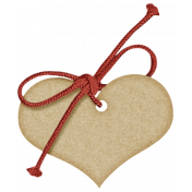 Sweet Valentine Elements- Tan Tag