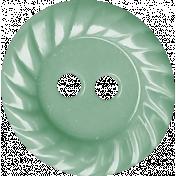 Sweet Valentine Elements- Teal Button