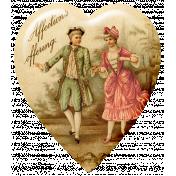 Sweet Valentine Elements Kit- St Valentine's Heart Flair