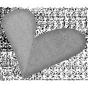 Paper Heart Template #06