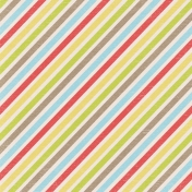 Lil Monster Colorful Striped Paper