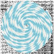 Lil Monster- Blue Pinwheel String