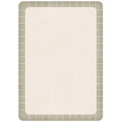 Lil Monster- Grayish Brown Journal Tag
