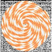 Lil Monster- Orange Pinwheel String