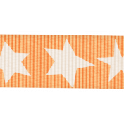 Lil Monster- Orange Ribbon With Stars