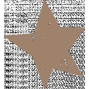 Lil Monster Brown Star