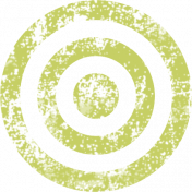 Lil Monster Green Target Stamp