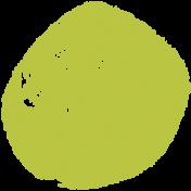 Lil Monster Green Dot Stamp