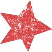 Lil Monster Red Star Stamp