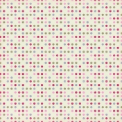 Be Mine Colorful Polkadots Paper