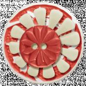 Sweet Valentine Red Button Cluster