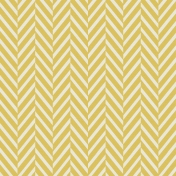 The Best Is Yet To Come- Yellow Chevron Paper
