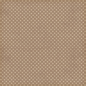 Oh Lucky Day- Brown Polkadot Paper