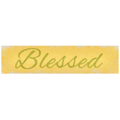 Oh lucky Day- Blessed Label