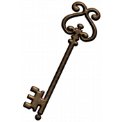 Oh Lucky Day - Vintage Key