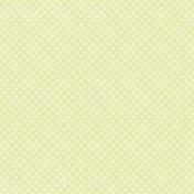 Sunshine And Lemons- Green Polkadot Paper