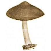 Enchanted- Mushroom 01 Sticker