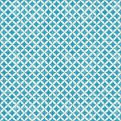 Hello- Blue Diamond Paper