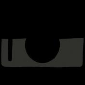 Camera Doodles Set- Camera #01 Illustration