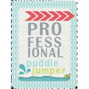 Rain, Rain- Journal Cards- Puddle Jumper