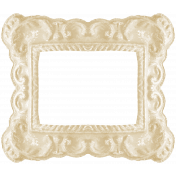 I Love You Mom- White Ornate Frame