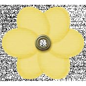 Rain, Rain- Yellow Flower
