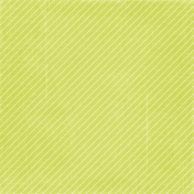 At The Beach- Green Stripes Paper