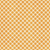 At The Beach- Orange Polkadots Paper