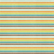 At The Beach- Stripes Paper