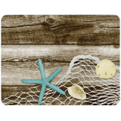 At The Beach- Fishing Net Journal Card