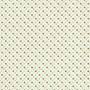 Oh Baby, Baby- Blue & Brown Polkadot Paper