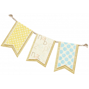 Oh Baby, Baby- Banner For Boy