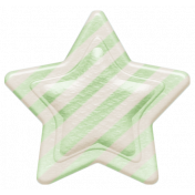 Oh Baby, Baby- Green Striped Star