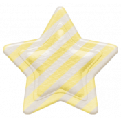 Oh Baby, Baby- Yellow Striped Star