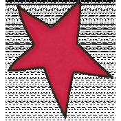 Space Explorer July 2014 Blog Train Mini Kit- Red Doodle Star