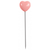 Oh Baby, Baby- Pink Heart Pin