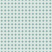 Space Explorer- Blue Light Blue Diamonds Paper