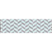 Space Explorer- Blue Gray Chevron Tape