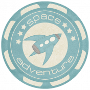 Space Explorer- Space Adventure Tag