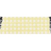 Space Explorer- Yellow Star Tape