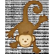 Oh Baby, Baby- Monkey Sticker