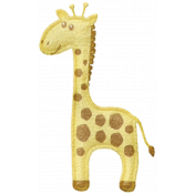 Oh Baby, Baby- Puffy Felt Giraffe