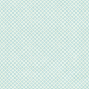Oh Baby Baby- Big Polka Dot Paper- Blue