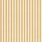 Oh Baby Baby- Colorful Stripes Girl Paper