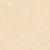 Oh Baby Baby- Orange Grid Paper