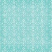 Christmas In July- Ornate Paper- Blue